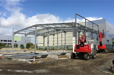 Maha Ireland, Rathcoole, Co. Dublin - 1000m2 Industrial Building Unit with Ancillary Offices and Carparking - industrial building project by McKelan Construction Ltd, Wexford, Ireland