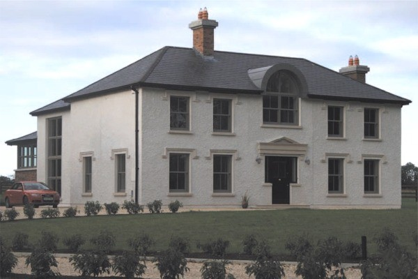 Construction of private dwelling home by McKelan Construction of Wexford.